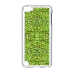 Digital Nature Collage Pattern Apple Ipod Touch 5 Case (white)