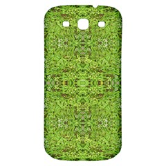 Digital Nature Collage Pattern Samsung Galaxy S3 S Iii Classic Hardshell Back Case