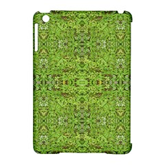 Digital Nature Collage Pattern Apple Ipad Mini Hardshell Case (compatible With Smart Cover)