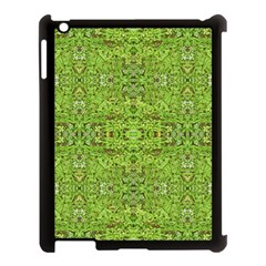 Digital Nature Collage Pattern Apple Ipad 3/4 Case (black)