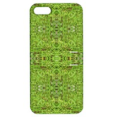 Digital Nature Collage Pattern Apple Iphone 5 Hardshell Case With Stand
