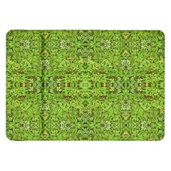 Digital Nature Collage Pattern Samsung Galaxy Tab 8 9  P7300 Flip Case