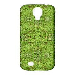 Digital Nature Collage Pattern Samsung Galaxy S4 Classic Hardshell Case (pc+silicone)
