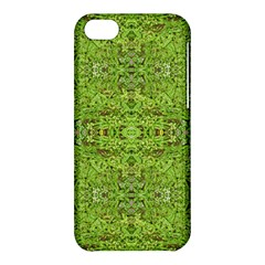 Digital Nature Collage Pattern Apple Iphone 5c Hardshell Case