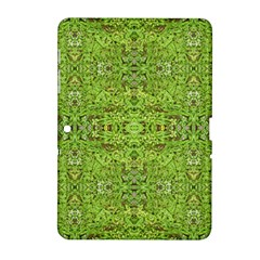 Digital Nature Collage Pattern Samsung Galaxy Tab 2 (10 1 ) P5100 Hardshell Case