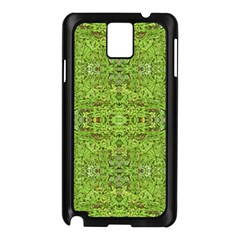 Digital Nature Collage Pattern Samsung Galaxy Note 3 N9005 Case (black)