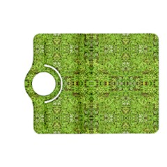 Digital Nature Collage Pattern Kindle Fire Hd (2013) Flip 360 Case