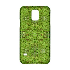 Digital Nature Collage Pattern Samsung Galaxy S5 Hardshell Case