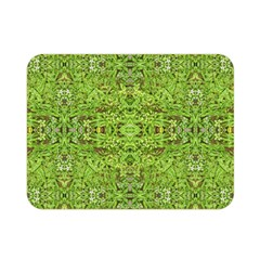 Digital Nature Collage Pattern Double Sided Flano Blanket (mini)