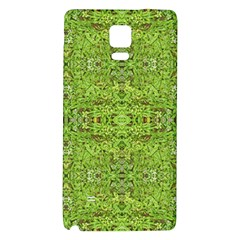 Digital Nature Collage Pattern Galaxy Note 4 Back Case