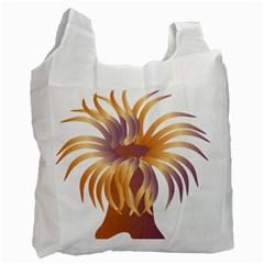 Sea Anemone Recycle Bag (one Side)