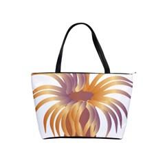 Sea Anemone Shoulder Handbags