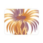 Sea Anemone Double Sided Flano Blanket (Mini)  35 x27 Blanket Front