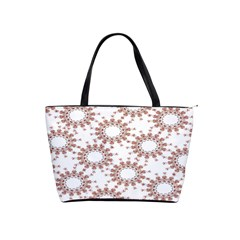 Pattern Flower Floral Star Circle Love Valentine Heart Pink Red Folk Shoulder Handbags
