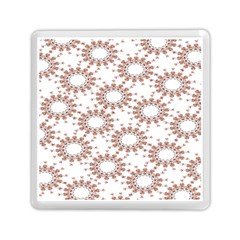 Pattern Flower Floral Star Circle Love Valentine Heart Pink Red Folk Memory Card Reader (square)