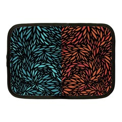 Square Pheonix Blue Orange Red Netbook Case (medium)