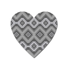 Triangle Wave Chevron Grey Sign Star Heart Magnet