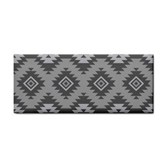 Triangle Wave Chevron Grey Sign Star Cosmetic Storage Cases