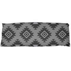 Triangle Wave Chevron Grey Sign Star Body Pillow Case Dakimakura (two Sides)