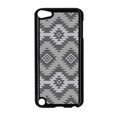 Triangle Wave Chevron Grey Sign Star Apple Ipod Touch 5 Case (black)