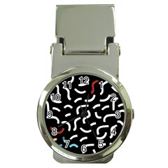 Toucan White Bluered Money Clip Watches