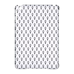 Woman Sign Circle Black Apple Ipad Mini Hardshell Case (compatible With Smart Cover)