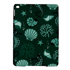Vector Seamless Pattern With Sea Fauna Seaworld Ipad Air 2 Hardshell Cases