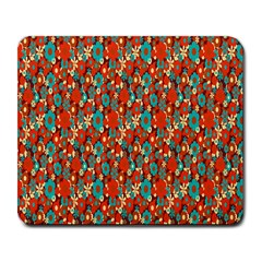 Surface Patterns Bright Flower Floral Sunflower Large Mousepads