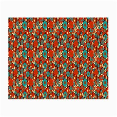 Surface Patterns Bright Flower Floral Sunflower Small Glasses Cloth