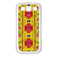 Light Candles And The Fern Will Still Grow In The Summer Samsung Galaxy S3 Back Case (white)