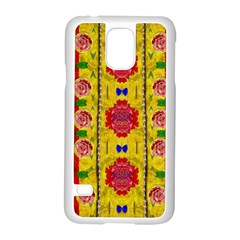 Light Candles And The Fern Will Still Grow In The Summer Samsung Galaxy S5 Case (white)