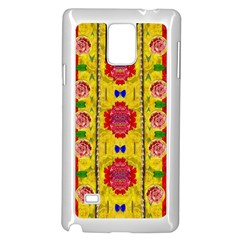 Light Candles And The Fern Will Still Grow In The Summer Samsung Galaxy Note 4 Case (white)
