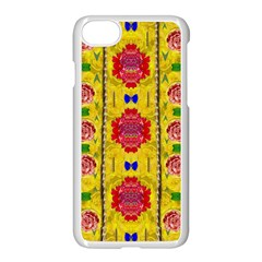 Light Candles And The Fern Will Still Grow In The Summer Apple Iphone 7 Seamless Case (white)
