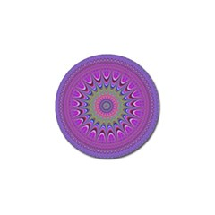 Art Mandala Design Ornament Flower Golf Ball Marker