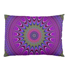 Art Mandala Design Ornament Flower Pillow Case