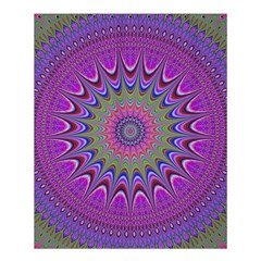 Art Mandala Design Ornament Flower Shower Curtain 60  X 72  (medium)