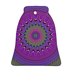 Art Mandala Design Ornament Flower Ornament (bell)