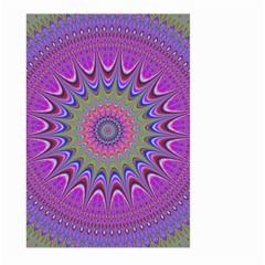 Art Mandala Design Ornament Flower Large Garden Flag (two Sides)