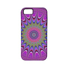 Art Mandala Design Ornament Flower Apple Iphone 5 Classic Hardshell Case (pc+silicone)