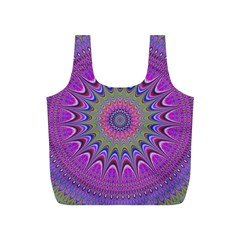 Art Mandala Design Ornament Flower Full Print Recycle Bags (s)