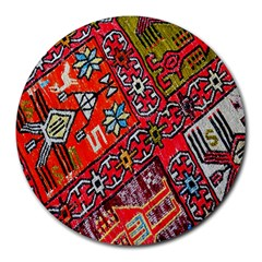 Carpet Orient Pattern Round Mousepads