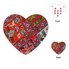 Carpet Orient Pattern Playing Cards (heart)