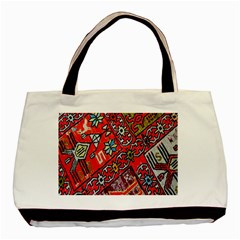 Carpet Orient Pattern Basic Tote Bag (two Sides)