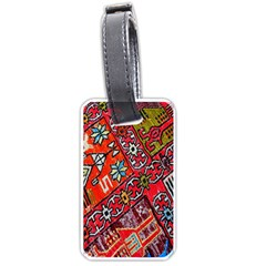 Carpet Orient Pattern Luggage Tags (one Side)