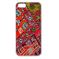Carpet Orient Pattern Apple Seamless Iphone 5 Case (clear)