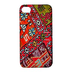 Carpet Orient Pattern Apple Iphone 4/4s Hardshell Case With Stand