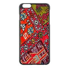 Carpet Orient Pattern Apple Iphone 6 Plus/6s Plus Black Enamel Case