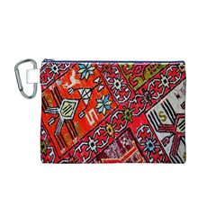 Carpet Orient Pattern Canvas Cosmetic Bag (m)