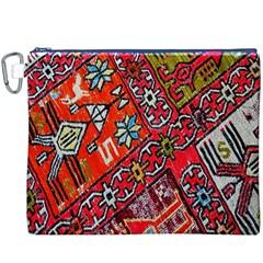 Carpet Orient Pattern Canvas Cosmetic Bag (xxxl)