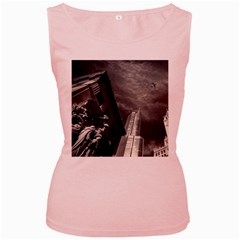 Chicago Skyline Tall Buildings Women s Pink Tank Top